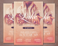 Examining Jesus Church Flyer Template