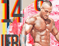 IFBB 2014 Israel Poster