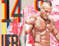 IFBB 2014 Israel Poster