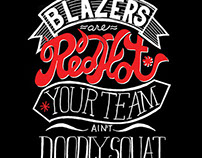 Blazers Are Red Hot*