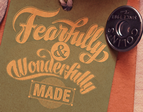 Hand Lettering and Typography Creative process