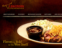 Longhorn Steakhouse Website ReDesign