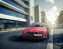 VRED, Alfa Romeo Brera | CGI, Photography, Retouching