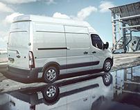 VRED, Renault Master | CGI, Photography, Retouching