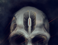 Lazer Skull
