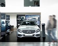 Mercedes C Class Launch Photography