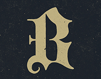 'B' Monogram - WIP