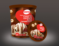 CORA Ice Cream Packaging Design
