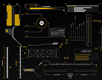 HUD Infographics Elements
