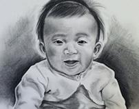 Pencil and Charcoal Portraits