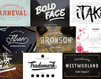 41 Fresh Fonts Only $39