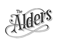 The Alders logo