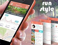 Run App UI/UX