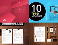 Free Presentation Mock-up Bundles on Dealjumbo