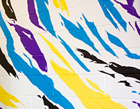 Mural for Glaceau Vitamin Water - Bricklane, London