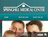 Springhill Medical Center - Website and Employee Portal