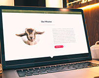 Hyper Active Happy Little Goats - Webdesign