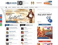 Web Designing and Developing for moviesbazzar