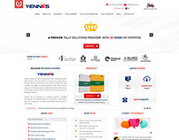 Wordpress website for Yennes Infotech