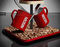 Nescafe + Coffeemate stand