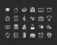 Educate Icon Set