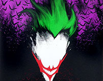 """The Dark Joker"" by Vincent Carrozza for MovieStop"