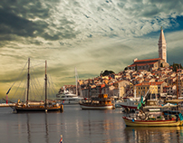 "Fine art travel photography ""Rovinj"""