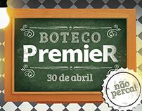 Convite Boteco PremieR