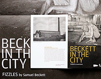 Beckett in the city – Leaflet design
