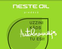 Neste Oil Social media campaign (Facebook / Draugiem )