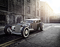 VRED, Guinness Hot Rod | CGI, Photography, Retouching