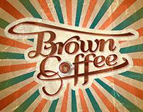 """Branding + Packaging """"Brown Coffee"""""""