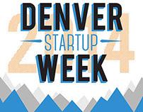 Denver Business Start Up Week Poster