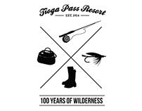 Tioga Pass Resort Centennial Graphics