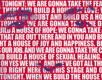 Bruce Springsteen's Speech Poster