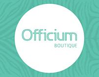 Nova Identidade - Officium Boutique