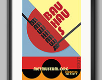 Bauhaus/Swiss Style Poster