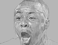 drawing of ayew