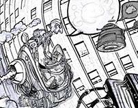 Mundo Paleto sketch