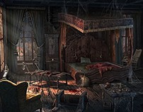 Plague scenes for Hidden Object Game