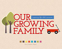 Our Growing Family Photo Book for Snapfish©