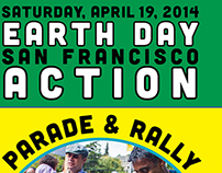 Earth Day San Francisco Action Parade & Rally