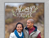 Always and Forever Engagement Photobook Snapfish©