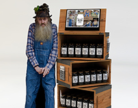 Popcorn Sutton Tennessee White Whiskey