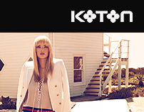 KOTON // Corporate web site'11, Freelance