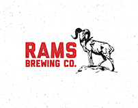Ram's Brewing Co. Branding