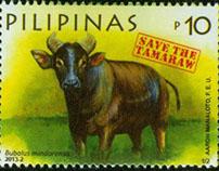 Tamaraw Commemorative Stamps