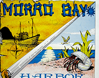 1992 Morro Bay Harbor Festival Poster Design