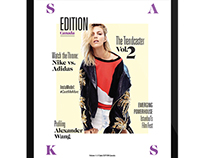 Saks Fifth Avenue - Edition Magazine