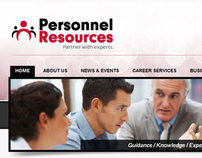 Personnel Resources // PRemployer Websites